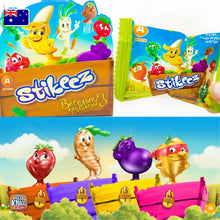 Load image into Gallery viewer, Stikeez RARE GLITTER CARROT - RUSSIA STIKEEZ *NEW*