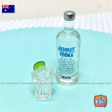 Load image into Gallery viewer, Mini Vodka Bottle & Tumbler Set | Miniature 1:12