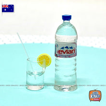 Load image into Gallery viewer, Mini Evian Water Set - Miniature 1:12