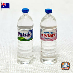 Mini Water Bottle Set of 2 - Miniature 1:12