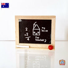 Load image into Gallery viewer, Mini Black Board - 1:12 Miniature