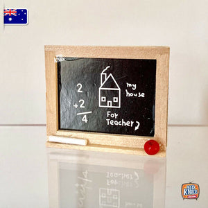Mini Black Board - 1:12 Miniature