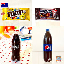 Load image into Gallery viewer, Little Shop Fan Favourites - Coke, Pepsi, M&M's & Snickers!