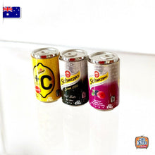 Load image into Gallery viewer, Mini Schwcppcs Cans Set of 3 - 1:12 Miniature