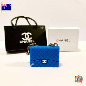 Mini Collectables - Handbag Set - C Blue 1:12 Miniature