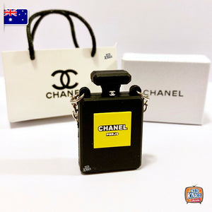 Mini Handbag Set - C Special Edition BLACK- 1:12 Miniature
