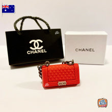 Load image into Gallery viewer, Mini Collectables - Handbag Set - C Red V2 1:12 Miniature