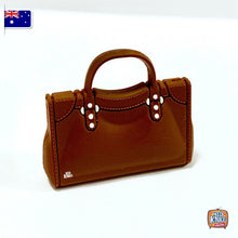 Load image into Gallery viewer, Mini Handbag - B Brown - 1:12 Miniature