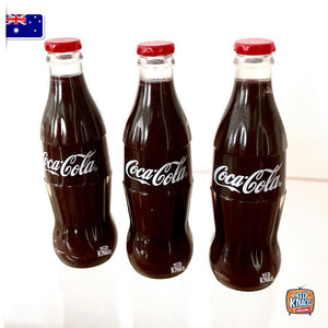 Mini Coke Bottle Set of 3 | Coca-Cola Miniature