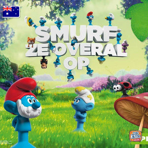 Stikeez Smurf The Lost Village Lot of 17 | add to your Coles Fresh Stikeez set!