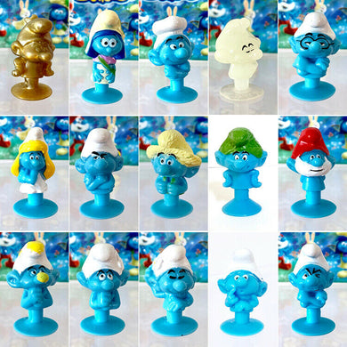 Stikeez SMURF The Lost Village LOT of 15 | add to your Coles Fresh Stikeez set!