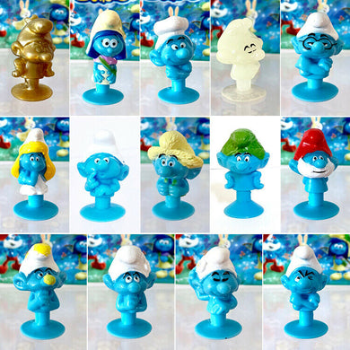 Stikeez SMURF The Lost Village LOT of 14 | add to your Coles Fresh Stikeez set!