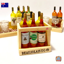 Load image into Gallery viewer, Mini Wine Bottles Set 1 - 1:12 Miniature