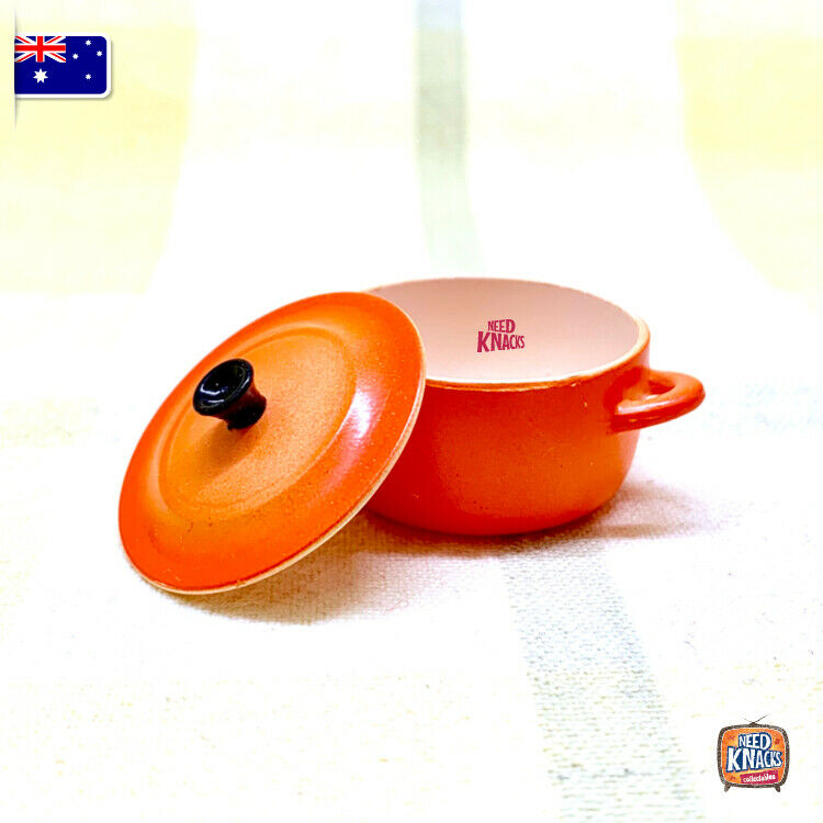 Mini Pot by Re-Ment Orange - Miniature dollhouse 1:12 Miniature