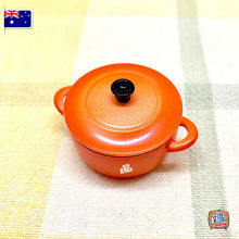 Load image into Gallery viewer, Mini Pot by Re-Ment Orange - Miniature dollhouse 1:12 Miniature