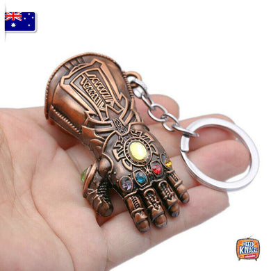 Avengers Thanos Gauntlet Keyring Red Chopper Infinity War Keychain End Game