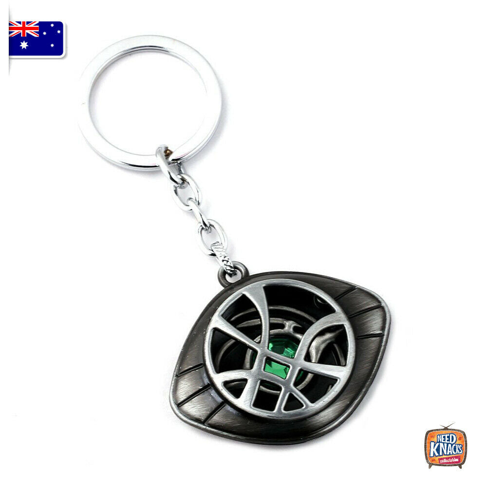 Marvel Doctor Strange Eye of Agamotto Keyring Infinity War Keychain End Game