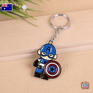 Marvel Captain America Keyring Infinity War Keychain End Game | AU Seller
