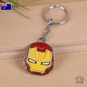 Marvel Avengers Iron Man Keyring Infinity War Keychain End Game