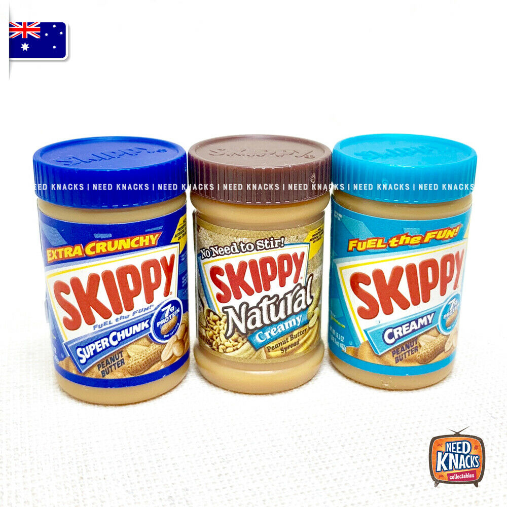 Zuru Mini Brands USA - Skippy Set of 3