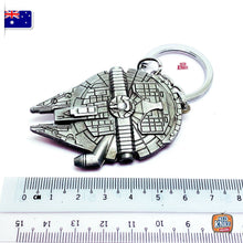 Load image into Gallery viewer, Star Wars Millennium Falcon Keyring Keychain