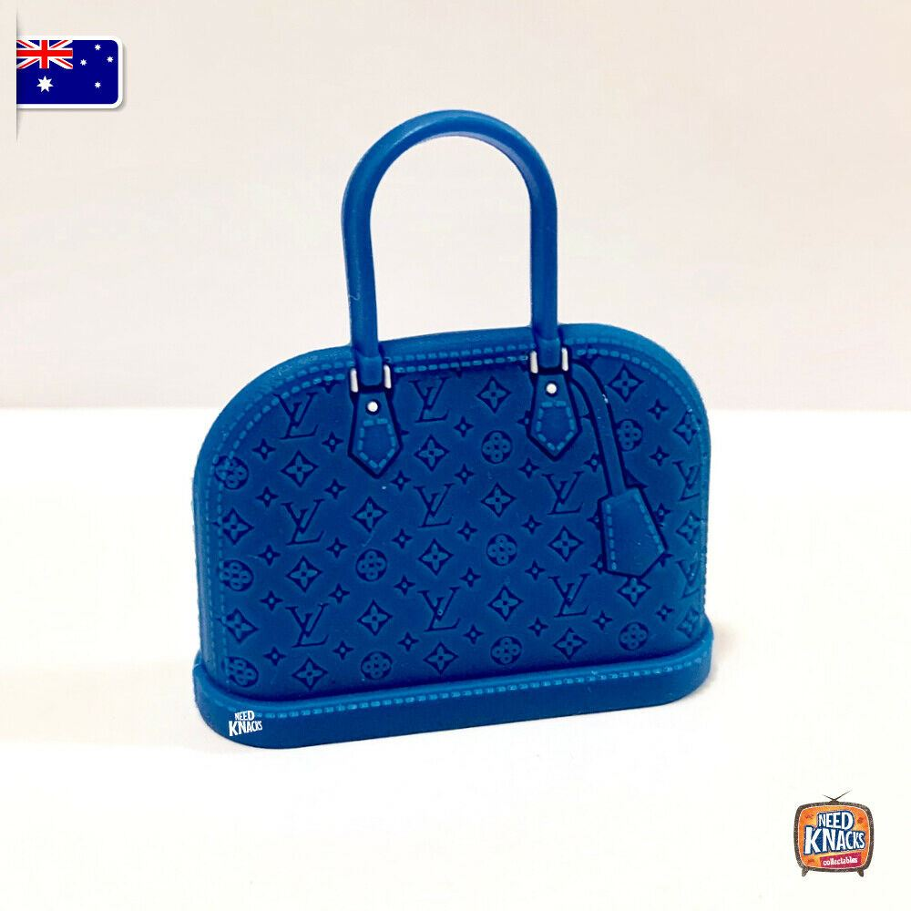 Mini Collectables - Blue Handbag 1:12 Miniature