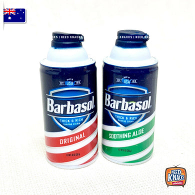 Barbasol Shaving Cream Set- Zuru Mini Brands