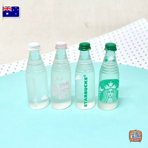 Mini Starbucks Bottles - 1:12 Miniature