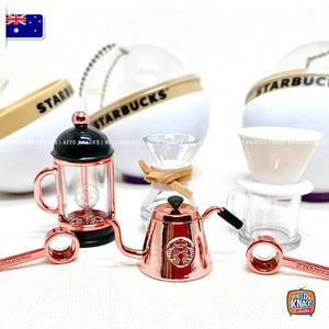 Mini Starbucks Coffee Set of 3 - 1:12 Miniature