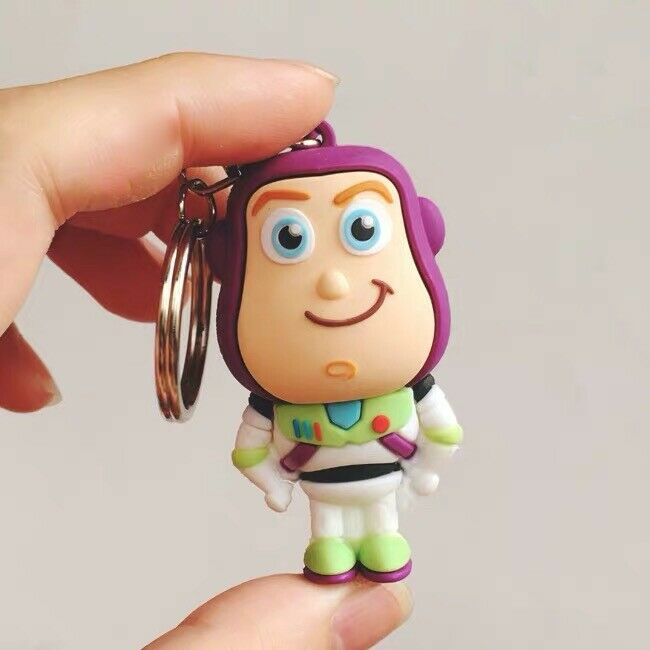 Toy Story 4 Buzz Lightyear keychain key ring Pixar Disney New AU Stock
