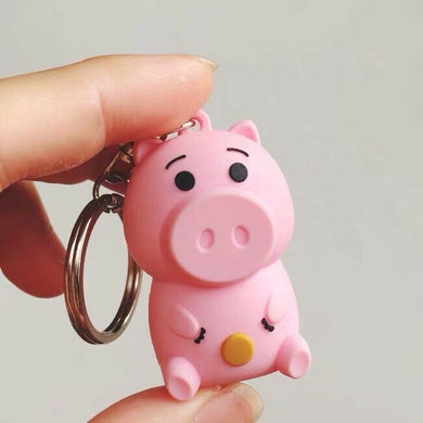 Toy Story 4 Hamm keychain key ring Pixar Disney New AU Stock