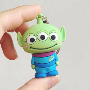 Toy Story 3 Alien keychain key ring Pixar Disney New AU Stock