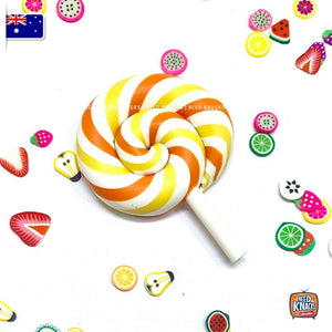 Mini Rainbow Lollipops Lot of 2! - 1:6 Miniature