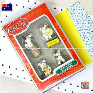 Mini Coke Bears set - Coca-Cola Collectables