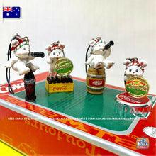 Load image into Gallery viewer, Mini Coke Bears set - Coca-Cola Collectables
