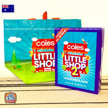 Load image into Gallery viewer, Coles Little Shop 2 -Complete Set & Little Shop Reusable Bag! NEW