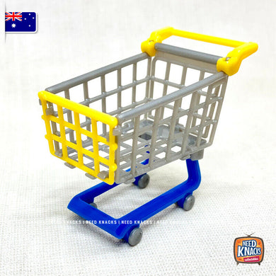 Mini Shopping Cart / Trolley (flatpack) by Zuru Mini Brands USA