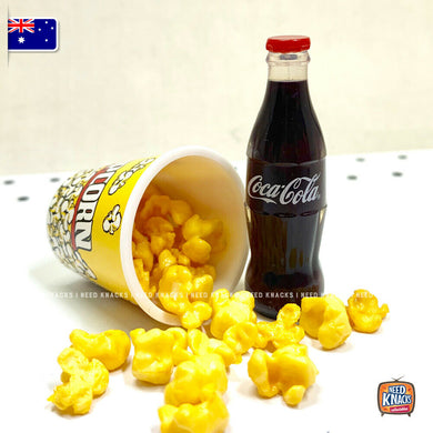 Mini Popcorn & Coke Set - 1:6 Miniature