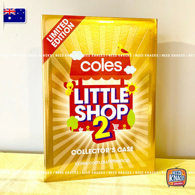 Coles Little Shop 2 - Limited Edition Gold Collector's Case with Gold Trolley