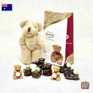 Mini Chocolates & Bear Set - 1:12 Miniature