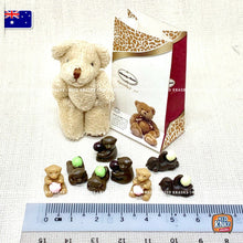 Load image into Gallery viewer, Mini Chocolates & Bear Set - 1:12 Miniature