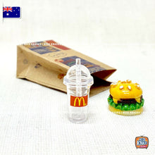 Load image into Gallery viewer, Mini McDonald's Fast-food Set - 1:12 Miniature