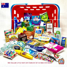 Load image into Gallery viewer, Little Shop NZ 2014 Complete Set with Basket