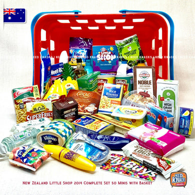 Little Shop NZ 2014 Complete Set with Basket