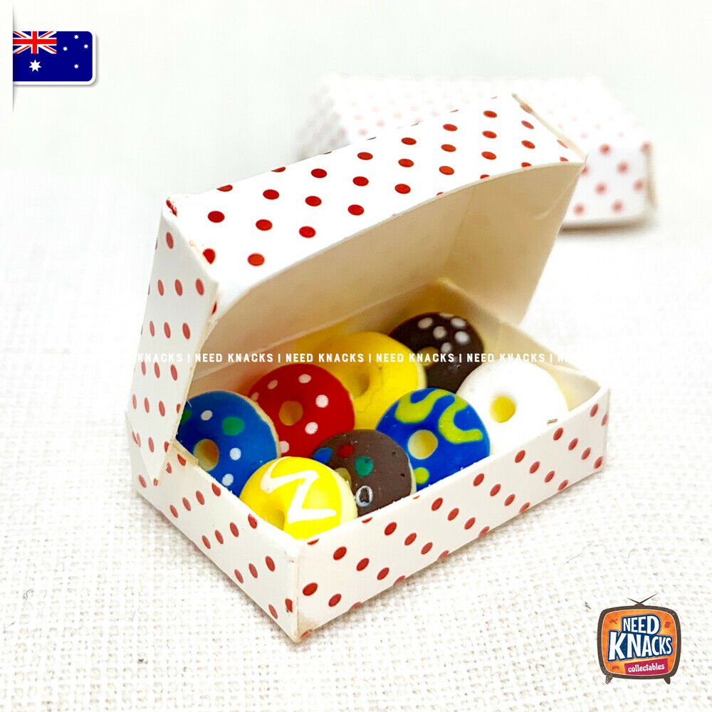 Mini Donuts Box Set - 1:12 Miniature