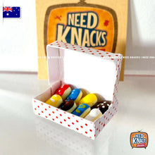 Load image into Gallery viewer, Mini Donuts Box Set - 1:12 Miniature