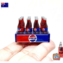 Load image into Gallery viewer, Mini Coke & Pepsi Crate set NEW & IMPROVED 1:12 Miniature