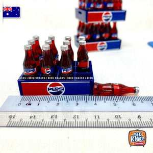 Mini Pepsi Crate and Trolley Set - 1:12 Miniature