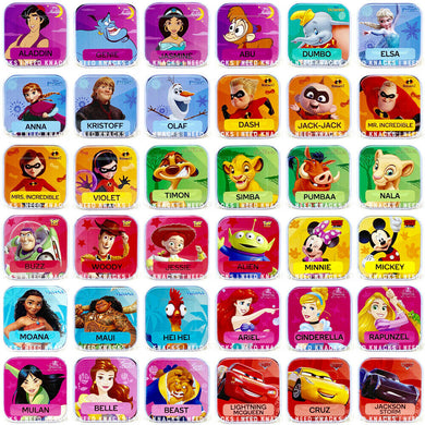Woolworths Disney Words Tiles - Pick your Tiles!