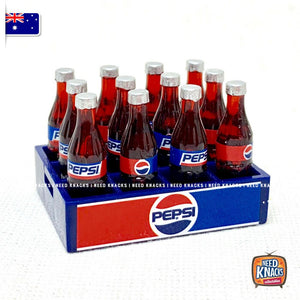 Mini Pepsi Crate - 1:12 Miniature